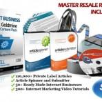 Instant Business Content Goldmine